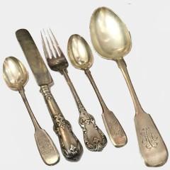 Оценить и продать столовое серебро